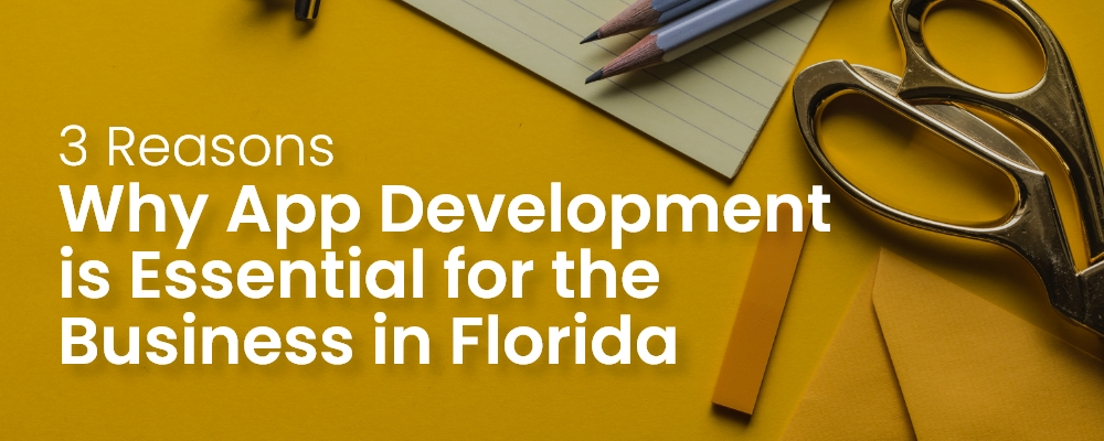 3 Reasons Why App Development is Essential for the Business in Florida (FL)