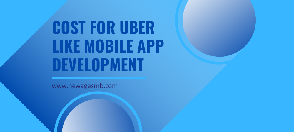 Cost for Uber Like Mobile App Development in NYC