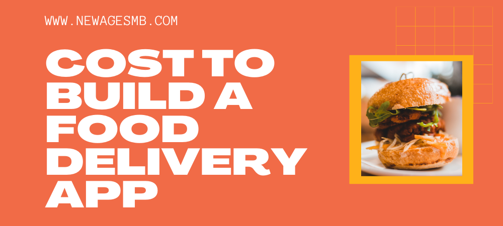 Cost to Build a Food Delivery App in NJ