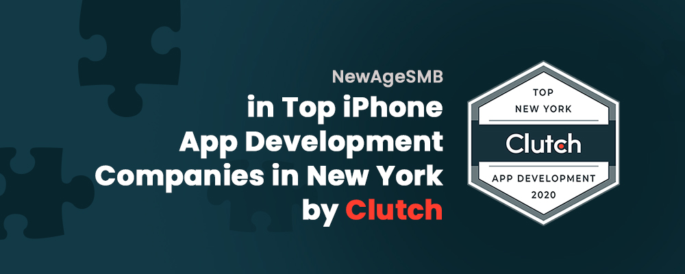 NewAgeSMB in Top iPhone App Development Companies in New York By Clutch (NYC,NY)