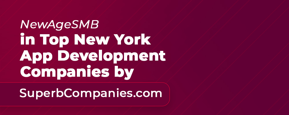 NewAgeSMB in Top New York App Development Companies by SuperbCompanies.com