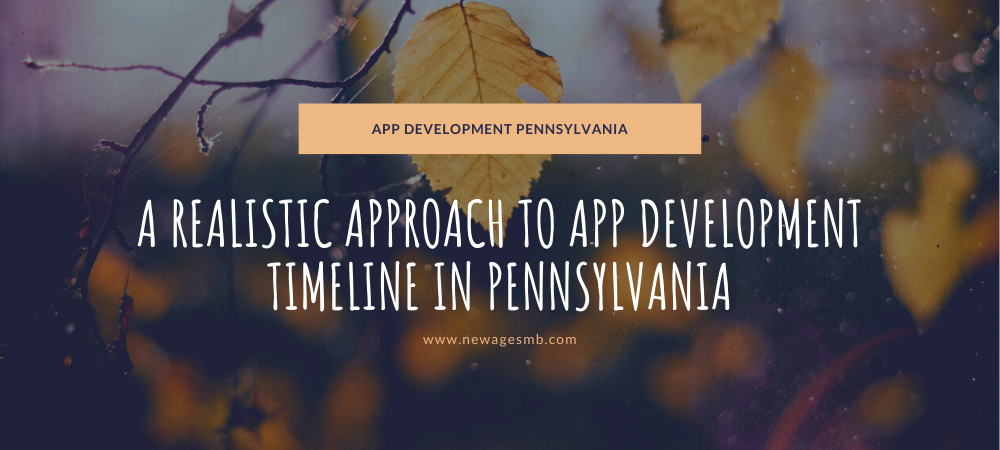 A Realistic Approach to App Development Timeline in PA, Pennsylvania