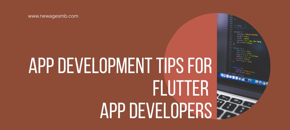 App Development Tips for Flutter App Developers In Maryland