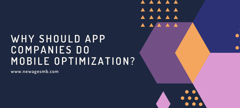 Why should App Companies in Florida do Mobile Optimization?