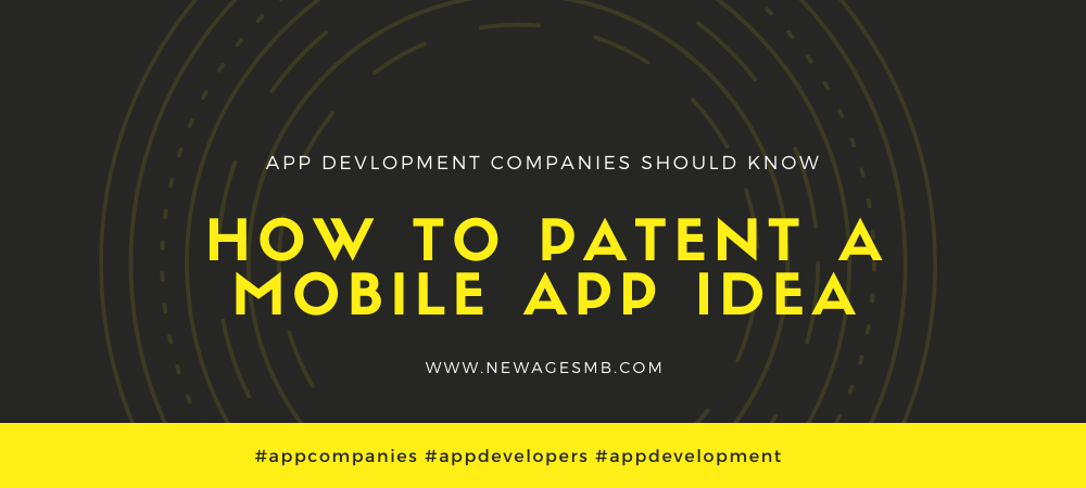 App Companies in Maryland Should Know to Patent a Mobile App Idea