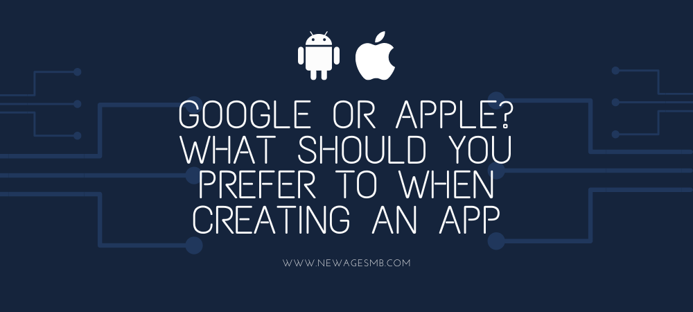 Google or Apple? What Should you Prefer to when Creating an App in Maryland?